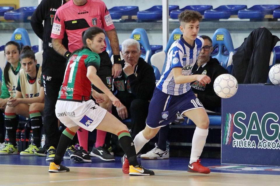 Chiara De Massis in maglia Pescara