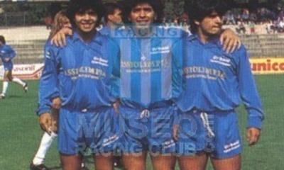 Hugo Diego, Lalo Maradona a Terni (foto dal Museo del Racing)