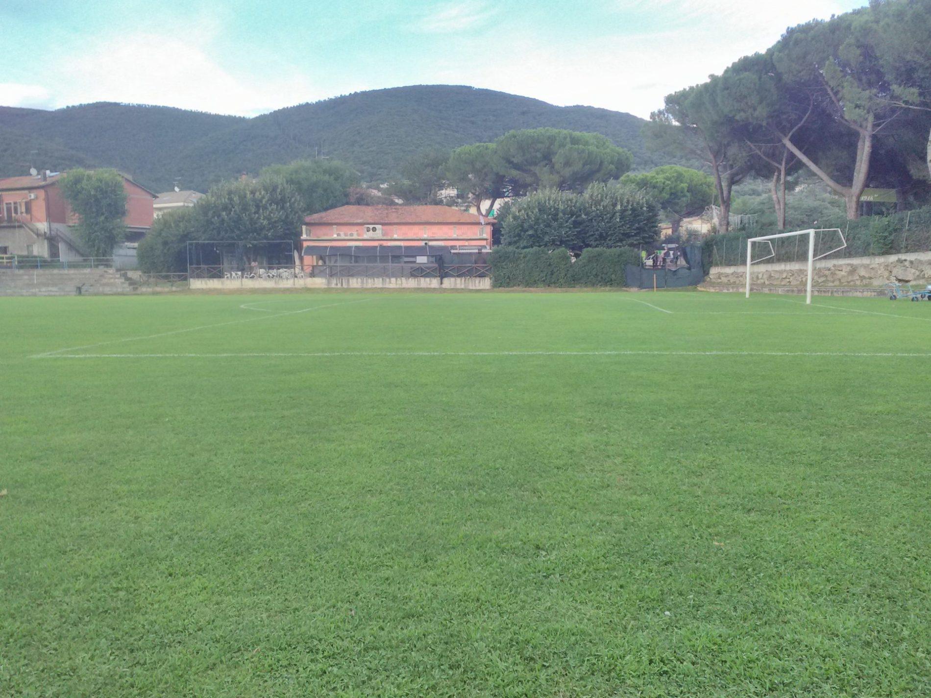 Un campo di calcio