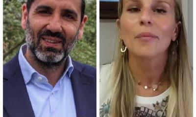 Il sindaco di Terni Leonardo Latini e l'assessore allo sport Elena Proietti
