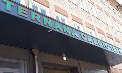 L'ingresso della sede della Ternana