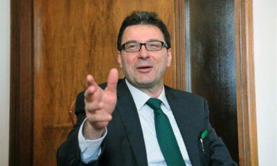 Giancarlo Giorgetti, sottosegretario alla presidenza del Consiglio