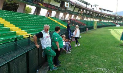 Tifosi stadio Liberati