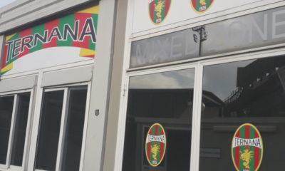 Stadio Libero Liberati mixed zone