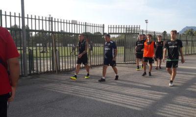 Ternana con De Canio alla fine dell'allenamento