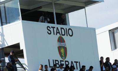 Stadio Liberati Tribuna Stampa Televisioni