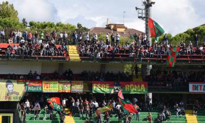 Curva Est Ternana stadio Liberati
