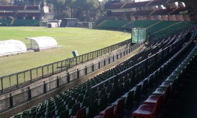 Ternana veduta stadio Liberati sedili distinti