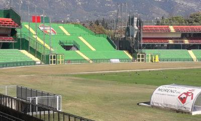 Ternana veduta stadio Liberati curva San Martino
