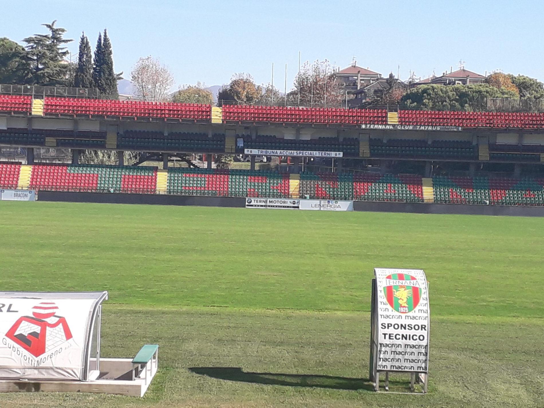 Ternana veduta stadio Liberati