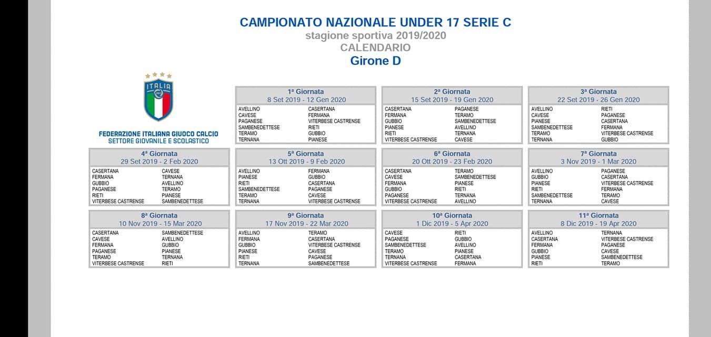 Calendario 10 Giornata Serie A.Fere Giovanili E Femminile Novita E Conferme Il